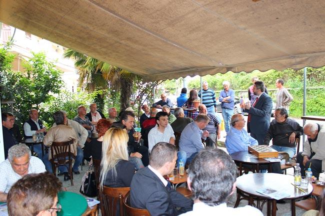 Ο υποψήφιος Δήμαρχος Βέροιας Ιωάννης Μ. Παπαγιάννης σε ομιλία και περιοδεία στην Αγία Βαρβάρα και στην Άμμο