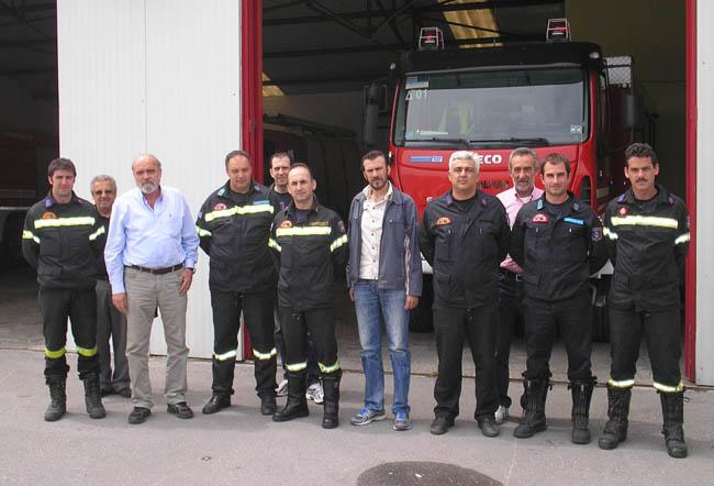 Kλιμάκιο της «Λαϊκής Συσπείρωσης Αλεξάνδρειας» επισκέφτηκε την Πυροσβεστική Υπηρεσία Αλεξάνδρειας.
