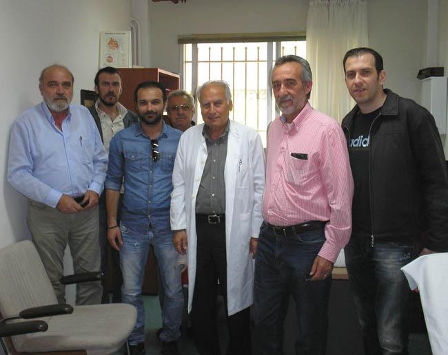Το Κέντρο Υγείας Αλεξάνδρειας, επισκέφτηκε κλιμάκιο της «Λαϊκής Συσπείρωσης Αλεξάνδρειας»