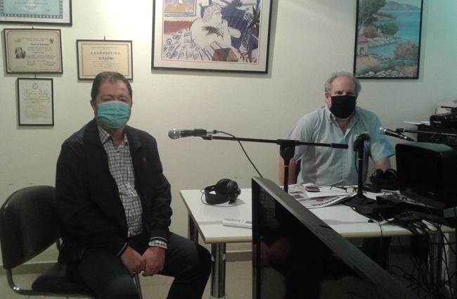 Αντώνης Λιόλιος, παθολόγος, εντατικολόγος: «Ο COVID 19 είναι μία καλή υπενθύμιση για την ανάγκη δυνατού Δημόσιου Συστήματος Υγείας»