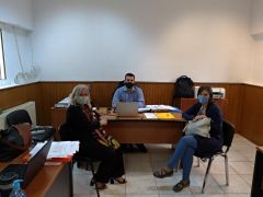 Επίσκεψη Γ. Μπατσαρά στη Δομή Προσφύγων