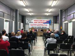 Σύσκεψη του Εργατικού Κέντρου Νάουσας για την «Χρυσή Αυγή»