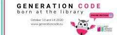 Generation Code: Born at the Library 2020, Πανευρωπαϊκή διαδικτυακή εκδήλωση βιβλιοθηκών με τη συμμετοχή της Δημόσιας Κεντρικής Βιβλιοθήκης της Βέροιας