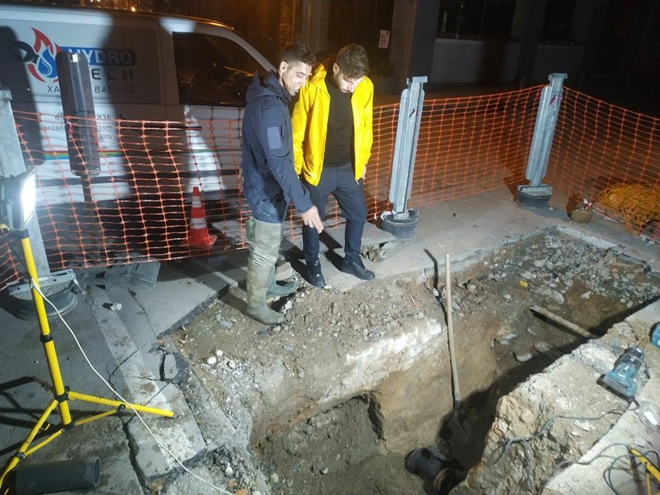 Νάουσα: Σε λειτουργία τέθηκε το νέο δίκτυο της ΔΕΥΑΝ επί της οδού Μεγάλου Αλεξάνδρου