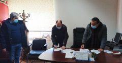 Νάουσα: Υπογράφηκε η σύμβαση του έργου συντήρησης δημοτικών κτιρίων