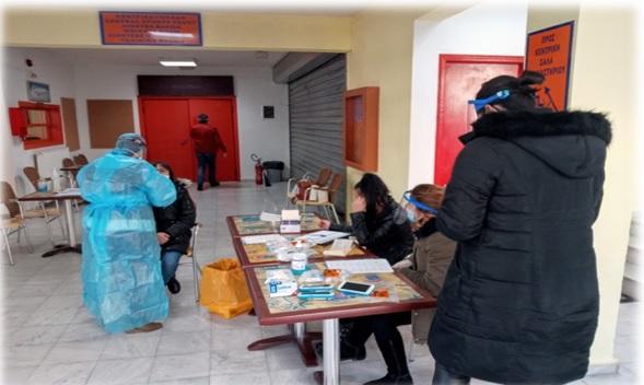 Βέροια: Rapid test στο προσωπικό των παιδικών σταθμών του δήμου