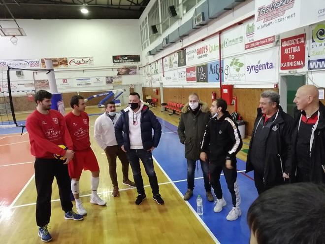 Μπήκε ξανά «σπίτι» του ο Α.Π.Σ Φίλιππος Βέροιας Volleyball