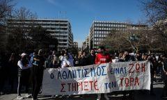Στους δρόμους οι αθλητές κατά της κυβέρνησης