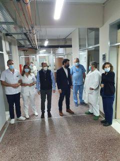 Στα νοσοκομεία Βέροιας & Νάουσας ο Τάσος Μπαρτζώκας: ενεργός ο ρόλος του στη νέα εποχή της υγειονομικής περίθαλψης στην Ημαθία