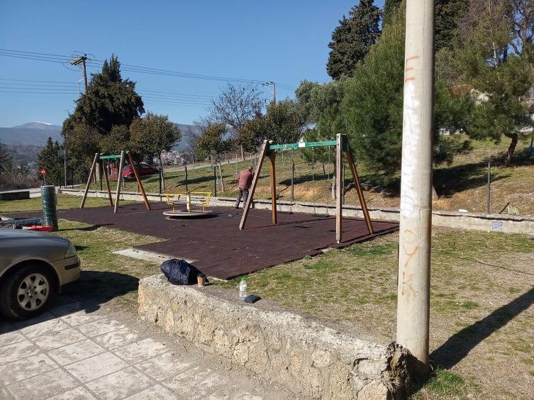 Εργασίες Πιστοποίησης σε Παιδικές Χαρές του Δήμου Βέροιας