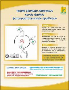 Δήμος Βέροιας: «Οι κενές συσκευασίες φυτοπροστατευτικών προϊόντων αποτελούν επικίνδυνο απόβλητο»