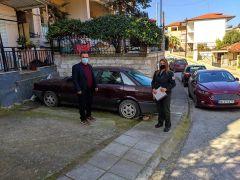 Η Δημοτική Αστυνομία καθημερινά στα προβλήματα των πολιτών και της πόλης μας