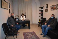 Συνάντηση της Φρόσως Καρασαρλίδου με προέδρους Κοινοτήτων του Δήμου Νάουσας