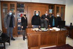 Συνάντηση της βουλευτή ΣΥΡΙΖΑ ΠΡΟΟΔΕΥΤΙΚΗ ΣΥΜΜΑΧΙΑ Ημαθίας Φρόσως Καρασαρλίδου με εκπροσώπους του Δικηγορικού Συλλόγου Βέροιας