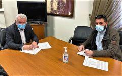 Υπογράφτηκε η σύμβαση του έργου «Εργασίες αποκατάστασης γεφυρών Δήμου Αλεξάνδρειας»