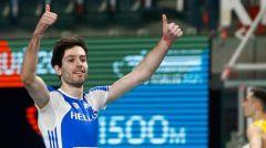 Χρυσό μετάλλιο για τον Μίλτο Τέντογλου με άλμα στα 8.35 μέτρα