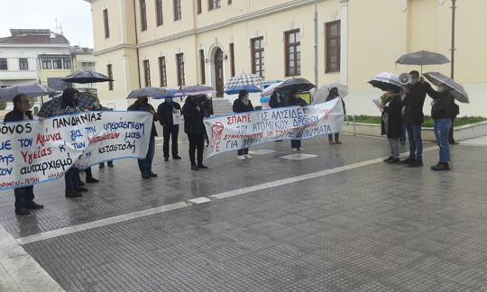 Βέροια: Συγκέντρωση για την προστασία της υγείας, την επιβίωση, αλλά και ενάντια στην κρατική βία και καταστολή