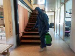 Απολύμανση στα γραφεία διοίκησης του ΚΑΠΑ Βέροιας