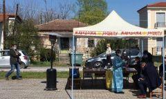 Συνολικά 104  rapid tests πραγματοποιήθηκαν στην Τ.Κ. Κοπανού, σε συνεργασία του Δήμου Νάουσας με τον ΕΟΔΥ