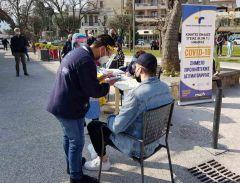 Ολοκληρώθηκε ο δειγματοληπτικός έλεγχος για COVID 19 στην Πλατεία Εληάς