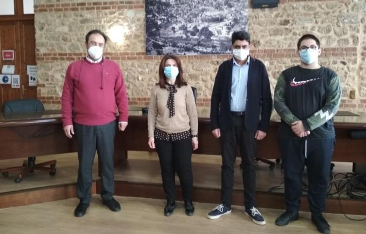 Μαθητές του 4ου ΓΕΛ Βέροιας επισκέφθηκαν το Δημαρχείο