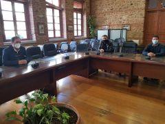 Συνάντηση Δημάρχου Βέροιας με Σωματείο Ιδιοκτητών Καφέ, Κέντρων Διασκέδασης και Ψυχαγωγίας Βέροιας