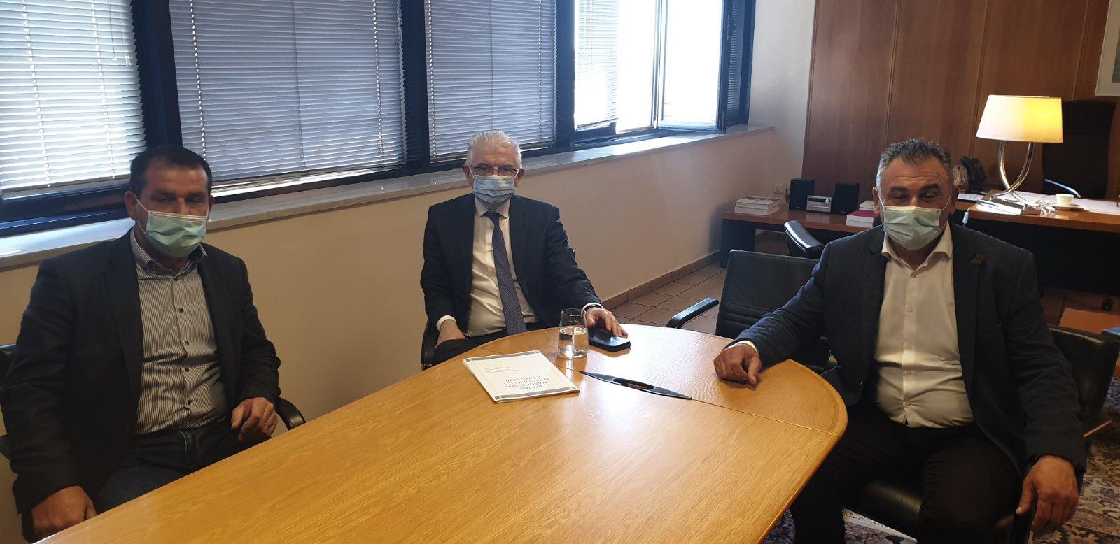 ΑΓΡΟΤΙΚΟΣ ΣΥΛΛΟΓΟΣ ΓΕΩΡΓΩΝ ΒΕΡΟΙΑΣ : Συνάντηση με τον Πρόεδρο του ΕΛΓΑ και του ΟΠΕΚΕΠΕ