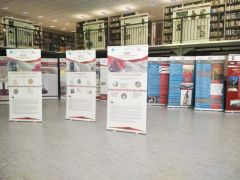Δημοτική Βιβλιοθήκη Νάουσας: Έκθεση περιγραφικών λαβάρων της δράσης «1821:Οι βιβλιοθήκες της Μακεδονίας στην Τοπική Ιστορία», στο πλαίσιο των παράλληλων εκδηλώσεων για την 199η ιστορική επέτειο του Ολοκαυτώματος