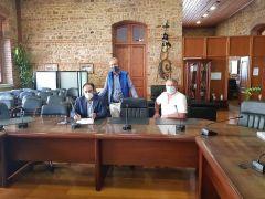 Υπογραφή Σύμβασης με τίτλο «ΣΥΝΤΗΡΗΣΗ ΚΟΙΝΟΧΡΗΣΤΩΝ ΧΩΡΩΝ Δ.Ε. ΔΟΒΡΑ»