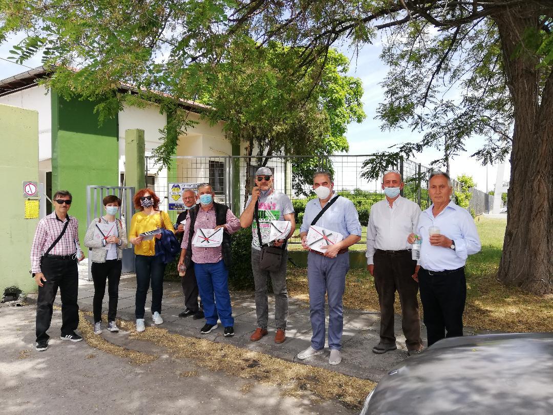 Κλιμάκιο της Ν.Ε ΣΥΡΙΖΑ ΠΡΟΟΔΕΥΤΙΚΗ ΣΥΜΜΑΧΙΑ Ημαθίας επισκέφτηκε την Κοινοπραξία ΑΛ.Μ.ΜΕ στην Κουλούρα Ημαθίας