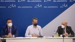 ΚΥΡ. ΜΗΤΣΟΤΑΚΗΣ: Προσήλωση στις αντιδραστικές «μεταρρυθμίσεις» και εκλογές «στο τέλος της τετραετίας»