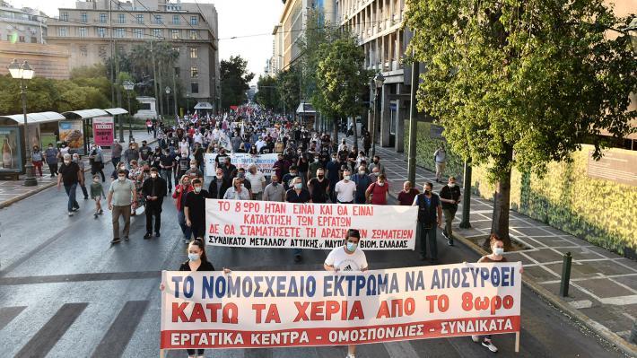 Μηνύματα αλληλεγγύης από συνδικάτα άλλων χωρών για τη σημερινή πανεργατική απεργία