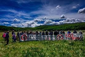 """""""SOS Βέρμιο"""" : Ειρηνική καθιστική διαμαρτυρία στην Πλατεία Ωρολογίου Νάουσας την Πέμπτη 17 Ιουνίου στις 6:00 μ.μ."""