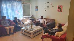 Επίσκεψη Τάσου Μπαρτζώκα στο Κέντρο Ημερήσιας Φροντίδας της Πρωτοβουλίας για το Παιδί στη Βέροια.