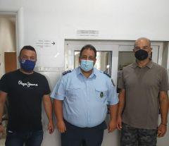 Συνεργασία Δήμου Νάουσας ,  Αστυνομίας για θέματα βελτίωσης της καθημερινότητας των δημοτών