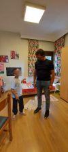 Επίσκεψη κ. Σταμάτη στο Σπίτι της Βεργίνας