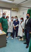 Επίσκεψη Τάσου Μπαρτζώκα στο Κέντρο Υγείας Αλεξάνδρειας