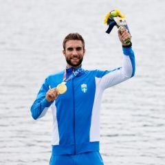 Στέφανος Ντούσκος: Χρυσός στο μονό σκιφ της κωπηλασίας στους Ολυμπιακούς Αγώνες του Τόκιο