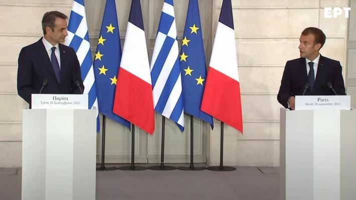 ΕΛΛΑΔΑ και ΓΑΛΛΙΑ: Υπογράφτηκε η συμφωνία για αγορά 3+1 φρεγατών με δέσμευση για κοινές επεμβάσεις