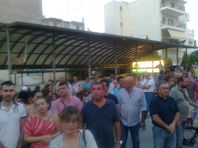 Με αφορμή την απεργία στη ΔΕΗ και τη συγκέντρωση διαμαρτυρίας στη Βέροια
