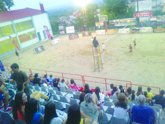 Όλα τα αθλήματα πια beach στη Βέροια…