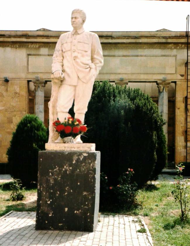 Στο Μουσείο του Ι.Β. ΣΤΑΛΙΝ στο Γκόρι