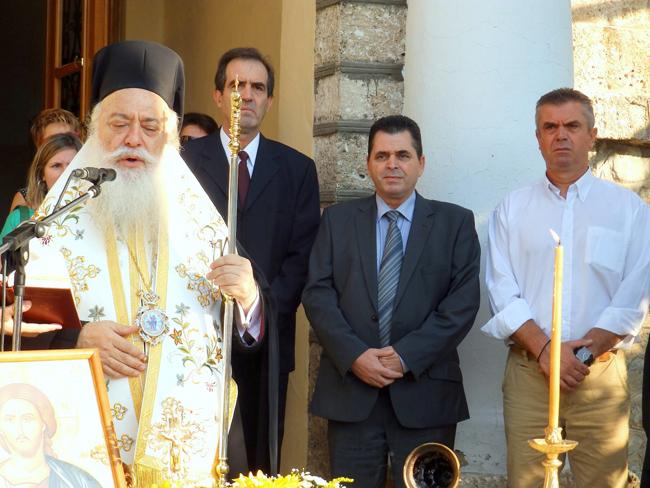 Στον αγιασμό του 1ου Λαππείου Γυμνασίου Νάουσας βρέθηκε ο αντιπεριφερειάρχης Ημαθίας κ.Κώστας Καλαϊτζίδης