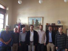 Επίσκεψη Πολιτιστικού Συλλόγου Κωστοχωρίου στο Δήμαρχο Βέροιας