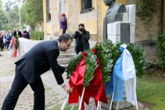 Ο πρόεδρος της ΔΗΜΑΡ Θανάσης Θεοχαρόπουλος στις εκδηλώσεις μνήμης για τα 50 έτη από την 21η Απριλίου του 1967 «Χρέος όλων μας είναι η μνήμη να νικά πάντοτε τη λήθη»