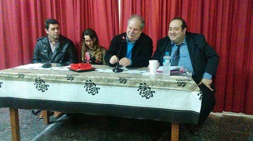 Παρουσίαση με μεγάλη συμμετοχή κόσμου  του βιβλίου του Α. Χατζηκώστα «Το παρελθόν κρατά πολύ» στη Μελίκη