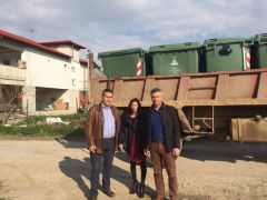 Νάουσα : Ολοκληρώθηκε  η τοποθέτηση 600 νέων πλαστικών κάδων σε όλες τις τοπικές κοινότητες Ανθεμίων και Ειρηνούπολης
