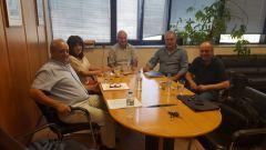 Συνάντηση με τον Πρόεδρο και τον Αντιπρόεδρο του ΕΛΓΑ, Φρόσως Καρασαρλίδου, Χρήστου Αντωνίου και Γιάννη Σηφάκη