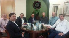 Στην Αθήνα για έργα ανανεώσιμων πηγών ενέργειας ο Δήμαρχος Βέροιας και ο Πρόεδρος της ΔΕΥΑΒ.