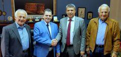 Επανεπιβεβαίωσαν το σύμφωνο συνεργασίας μεταξύ Ημαθίας και Ιλφόβ ο αντιπεριφερειάρχης Ημαθίας